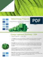 WEG Motor Global Energy Efficiency Legislations 2015 and Beyond Energyeffleg Training English