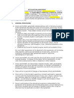 Affiliation Agreement - 2012 Template