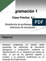 Clase Practica # 1 Relaciones Entre Clases