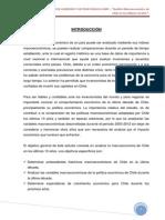 ANALISIS MACROECONOMICO DE CHILE EN LOS ÚLTIMOS DIEZ AÑOS