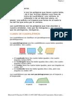 Geometriia 1- Los Cuadrilateros