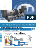 WEG Weg and Electric Machinery Solutions for the Nuclear Market Wegemnuclear Training English