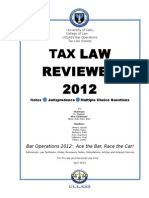 Tax law title page.doc