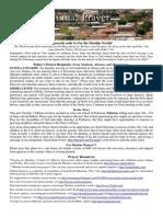 Jumaa Prayer Bulletin 19 December 2014