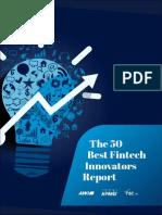 KPMG 50 Best Fintech Innovators Report 2014