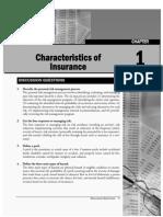 Insu Characteristics QA