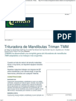 Trituradora de Mandíbulas Triman TMM - Maquinaria trituración - Triman Group.pdf