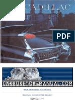 Cadillac 1959 Brochure