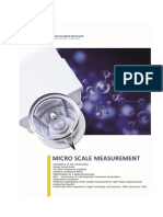 Metrology for Micro Scale Measurements