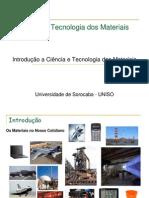 Aula 01 Introdução - ciência dos materiais