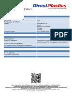 PEEK Material Handling Sheet
