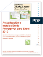 Actualización o Instalación Powerpivot Excel 2010