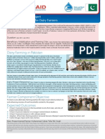 Training and Support for Dairy Farmers