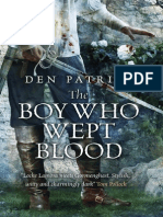 The Boy Who Wept Blood by Den Patrick Extract