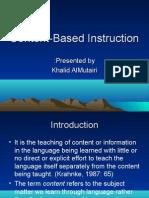 4 teachers! Content based instruction teaching method esl.