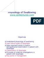 Physiology of Swallowing