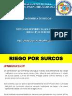 Clase 12 Riego Por Surcos
