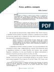 Força, Politica, Anarquia_Nildo Avelino [Artigo]