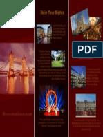 Panfleto Turístico de Londres