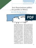 El Verdadero Financiamiento Publico de Los Partidos en Mexico-libre
