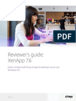 Xenapp Reviewers Guide