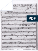 Alary, G. Morceau de Concours for Trumpet and Piano (Trompete in Bb)