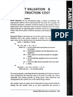 16_Plant Valuation & Construction Cost