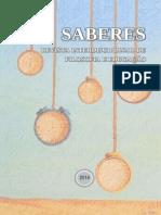 Revista Saberes Capa e Apresentação