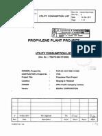 7t95 Po p 001 VP 0020. Utility Consumption List r0 c2