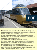Trenul Golden Pass-Elvetia
