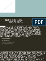Nurses Case Discussion