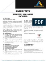 ADEADV1014 - Quick Facts & T&C - Forklift NON[1]
