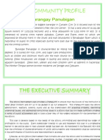 barangay panubigan community profile