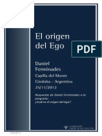 El Origen Del Ego