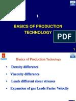 Basics of Production Technology