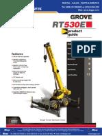 RT530E GROVE CRANE