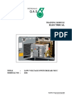 Module No E04 LV Switchgear
