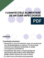 Toxiinfectiile Alimentare de Origine Infectioasa