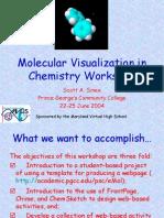 Molecular Visualization in Chemistry Workshop