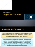Barret Esofagus(Yoga)