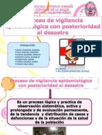 Proceso Devigilancia Epidemiologica Con Posterioridad Al Desastre