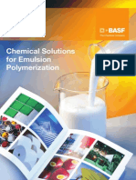 BASF Chemicals Solutions for Emulsion Polymerization