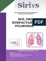 Articulo Surfactante Pulmonar Retuerto