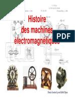 Histoire Des Machines Electriques 2009