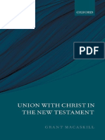 Union With Christ in the New Testament