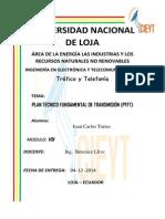 Trabajo Plan Tecnico Fundamental de Transmision Ptft