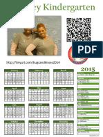 Evans Stone Calendar 2015 for Scribd