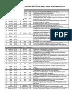Kalender Kkn UGM Untuk Semester Genap 2015 Dan Antar Semester 2015