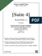 WD4 Suite 4 Tablatura