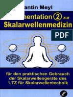 Prof. Konstantin Meyl --  Dokumentation 2 zur SkalarwellenMedizin (InhaltsVZ)